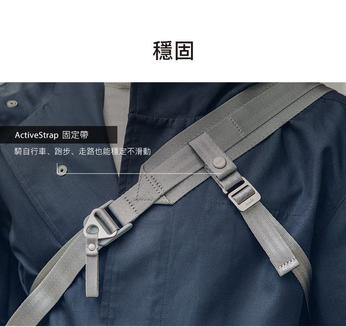 (複製)Moshi|Tego 城市行者系列 - 防盜單肩隨行包