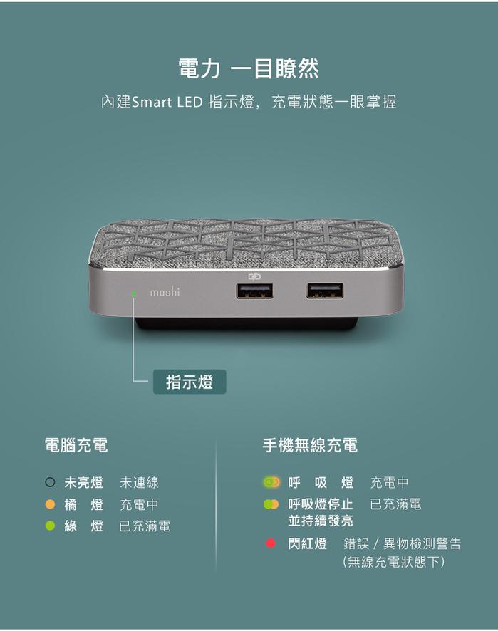 (複製)Moshi|Symbus USB-C多功能擴充基座 (銀)