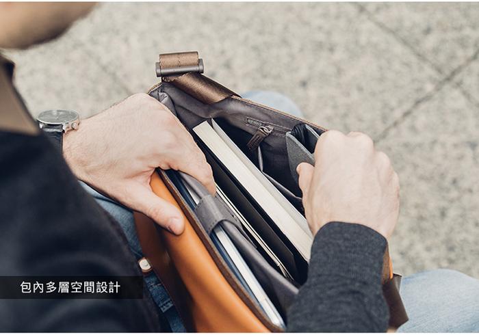 (複製)Moshi Treya Lite 超輕量皮革三用劍橋包