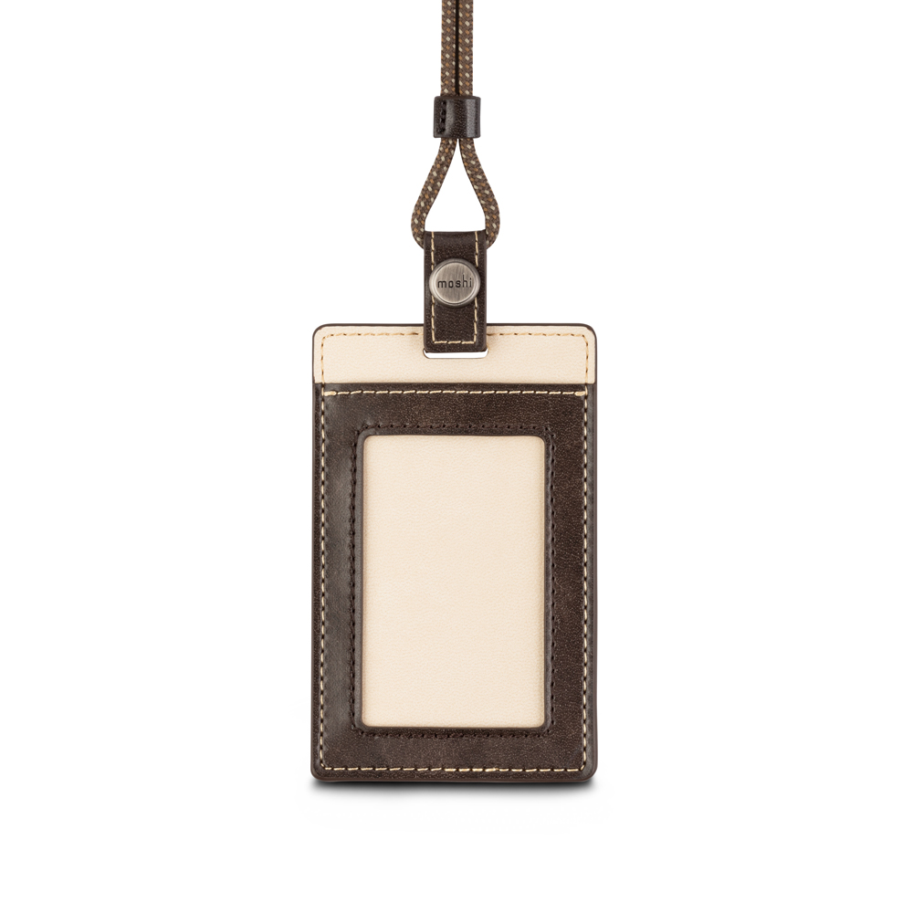 Moshi|Badge/ID Holder 證件套 (棕)