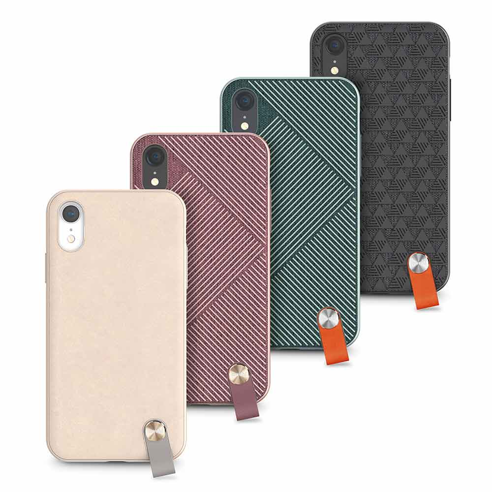 Moshi|Altra for iPhone XR 腕帶保護殼 + SnapTo™ 磁吸固定基座組