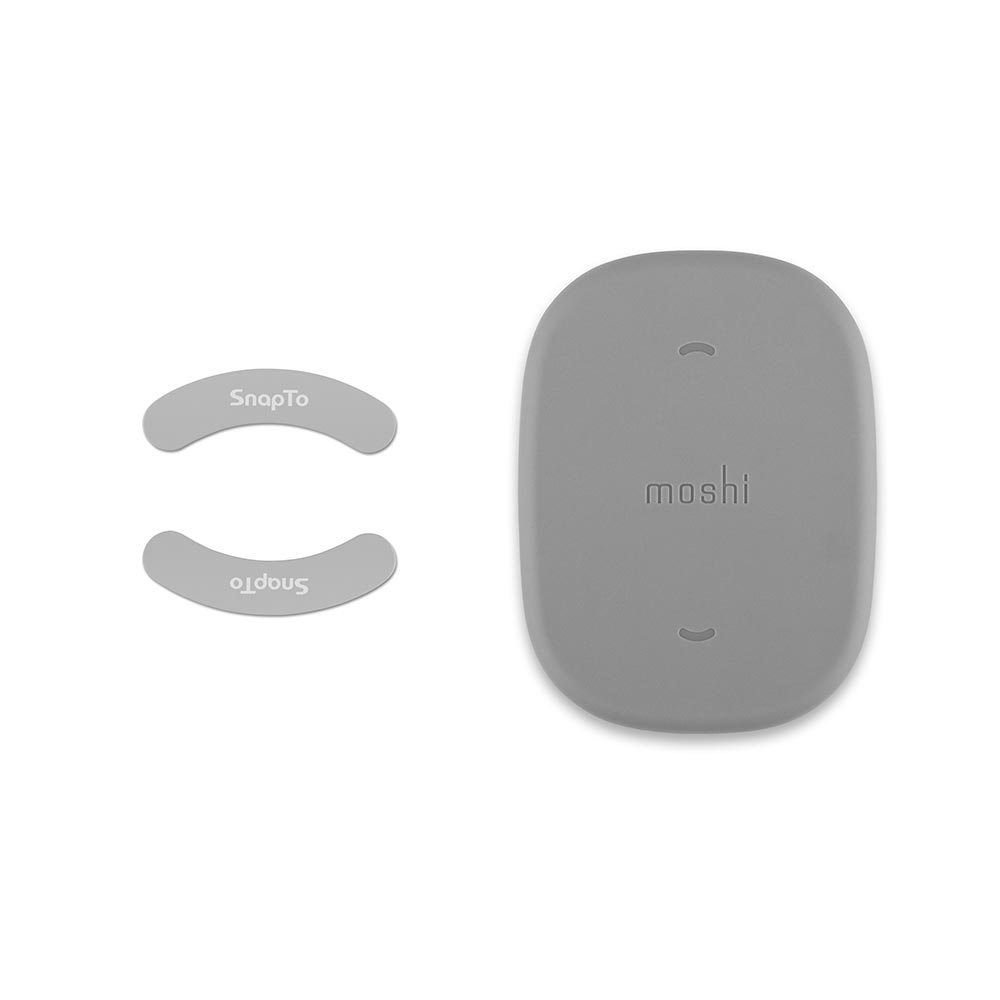 Moshi|iGlaze for iPhone XS Max 風尚晶亮保護殼 + SnapTo™ 磁吸固定基座組