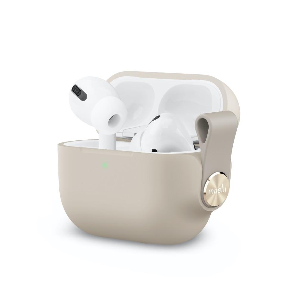 Moshi|Pebbo for AirPods Pro 藍牙耳機充電盒保護套