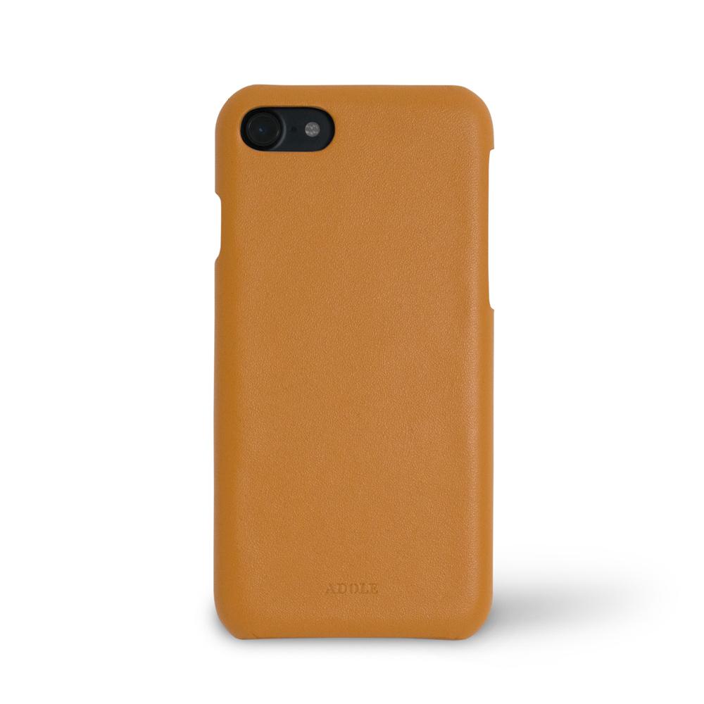 ADOLE|iPhone 7/8 4.7吋真皮防潑水手機殼-棕