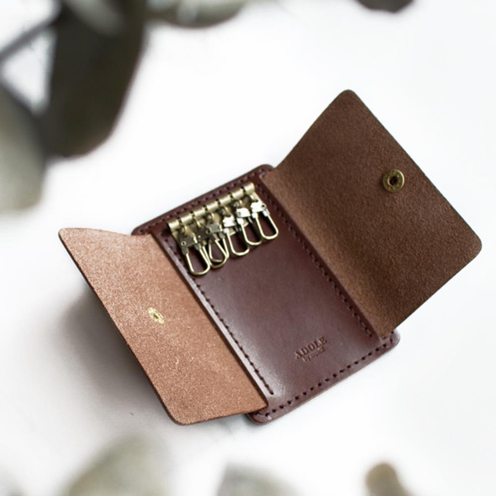 ADOLE|真皮手做DIY套組-鑰匙包