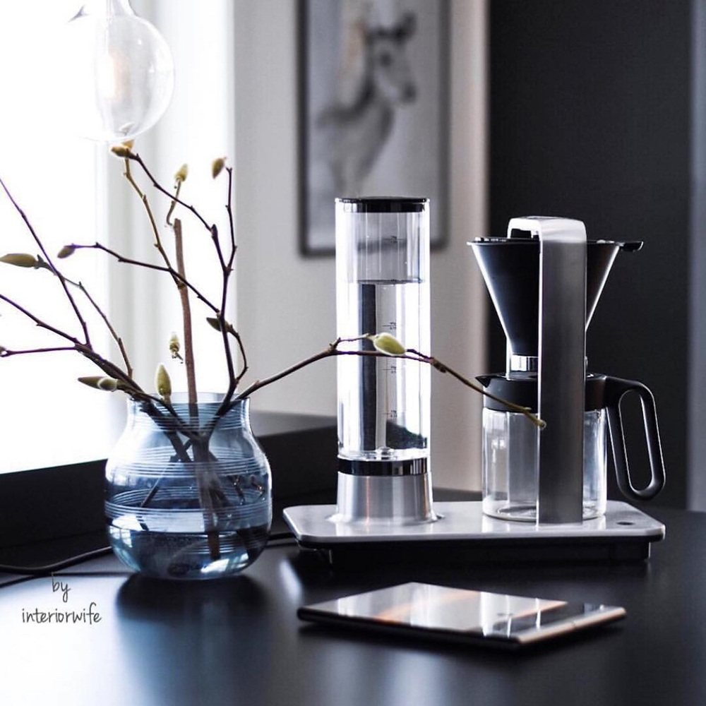 WILFA|北歐 wilfa svart 滴漏式咖啡機-銀