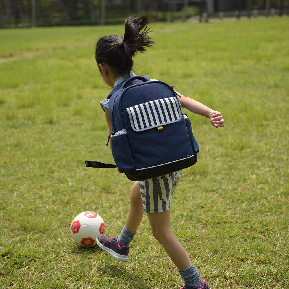 NIIZO|小學生輕量護脊書包 - 中低年級專用 (海軍藍)