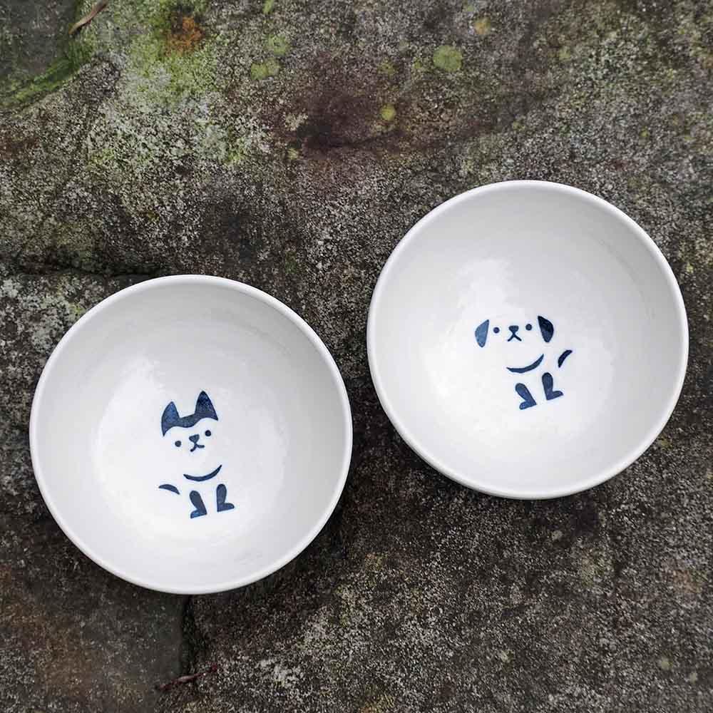 三星四季青花瓷|旺財來福-湯碗組