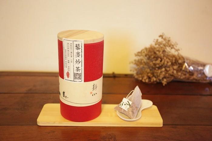 喜作物 kibutu|藜麥炒茶 靜心茶罐(紅)