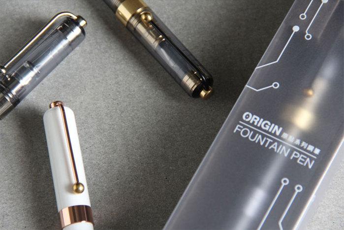 SKB文明鋼筆 | 原點系列鋼筆 ( 2色 )