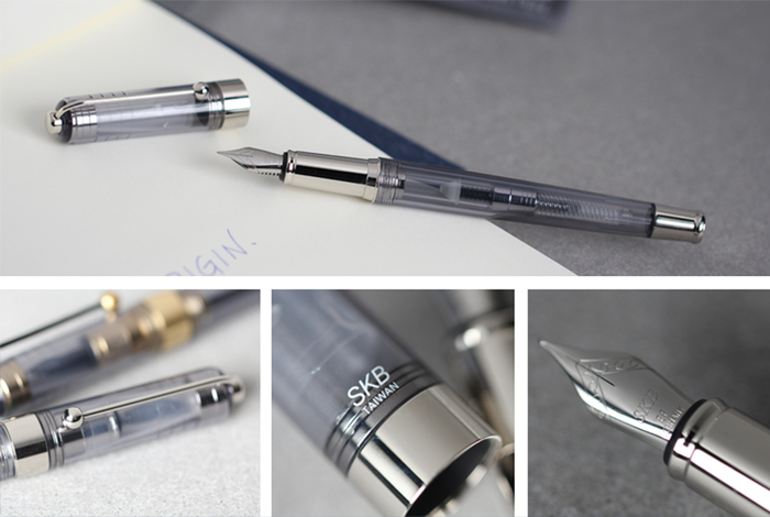 SKB文明鋼筆   原點系列鋼筆 ( 2色 )