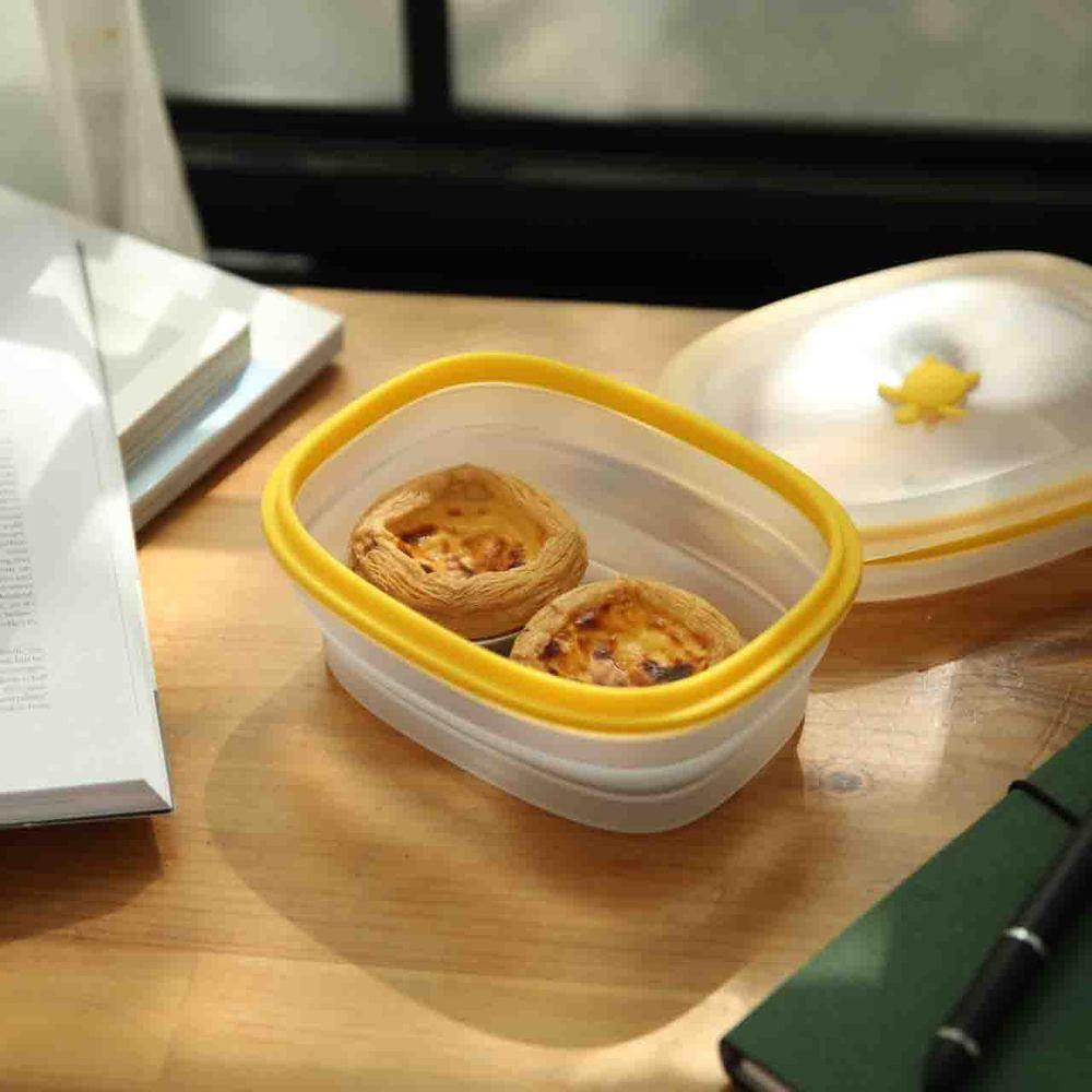 仁舟淨塑|矽密盒2.0 長方黃矽龜900ml