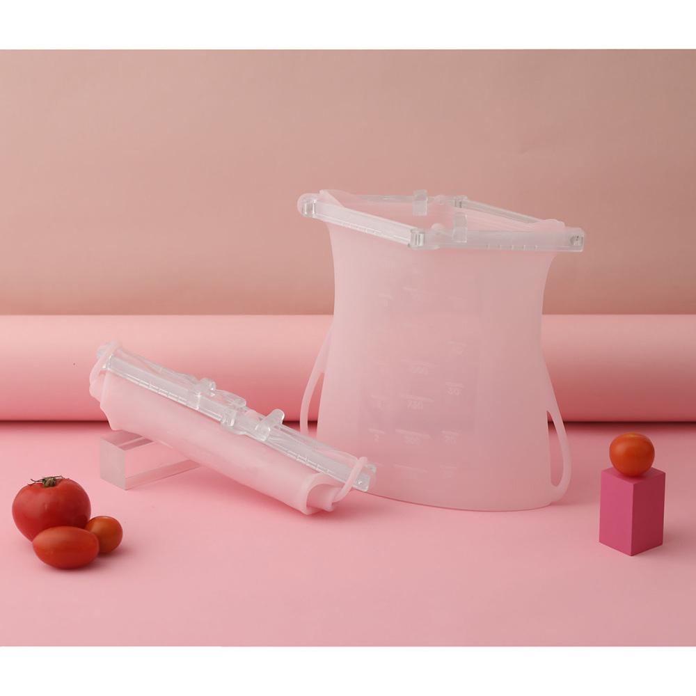 仁舟淨塑|矽密袋2.0款-雙容量二入組(1000&1500ml)
