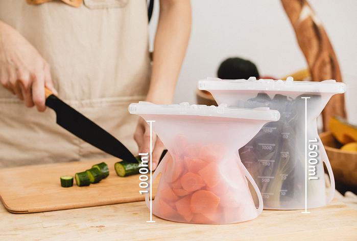 (複製)仁舟淨塑|矽密袋 1500ml (兩入組)