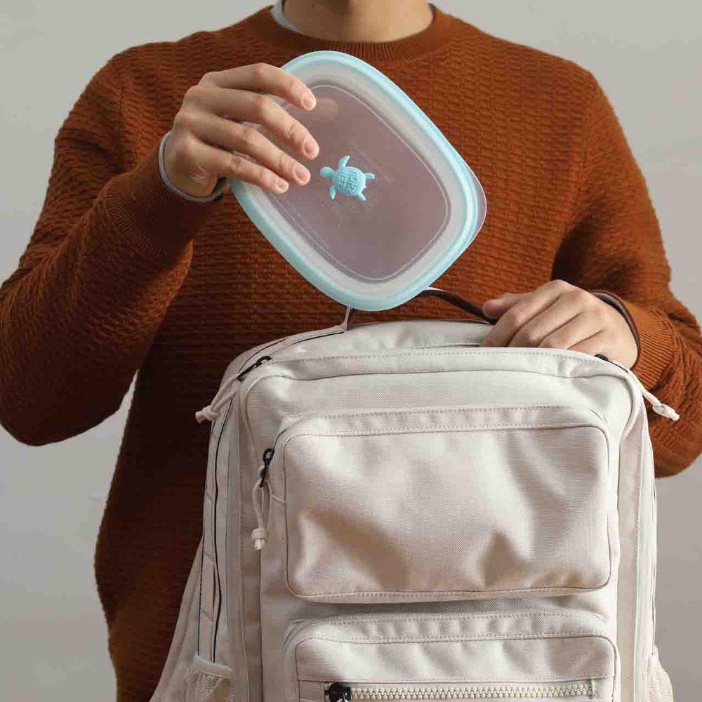 仁舟淨塑 矽密盒2.0 長方藍1200ml (贈1海洋款分裝瓶)