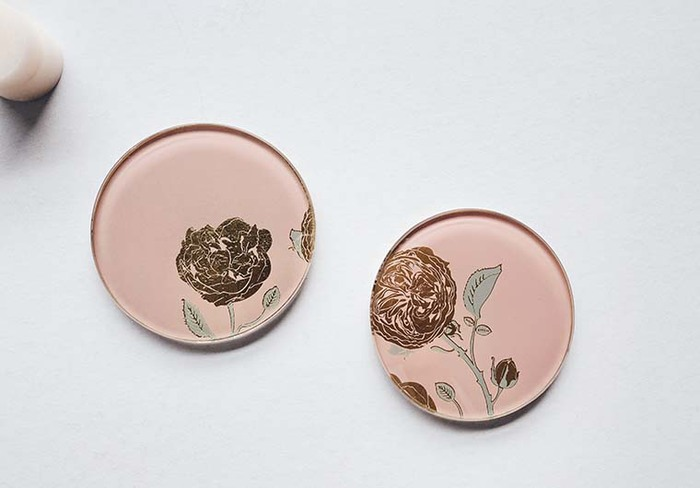 (複製)WEN PIIM | Venus Healing Gold Foil Square Plate x 維納斯的治癒方形器皿