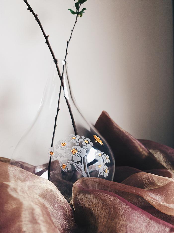 WEN PIIM |  Venus Healing Handmade Large Glass Vase x 維納斯的治癒手工大花器