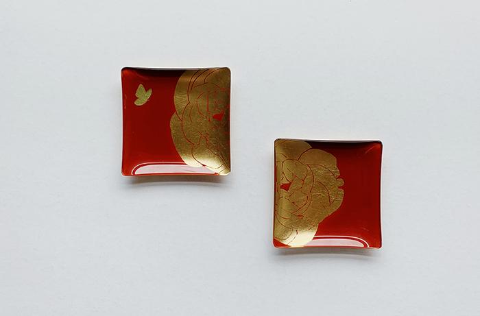 (複製)WEN PIIM   Venus Healing Gold Foil Square Plate x 維納斯的治癒方形器皿