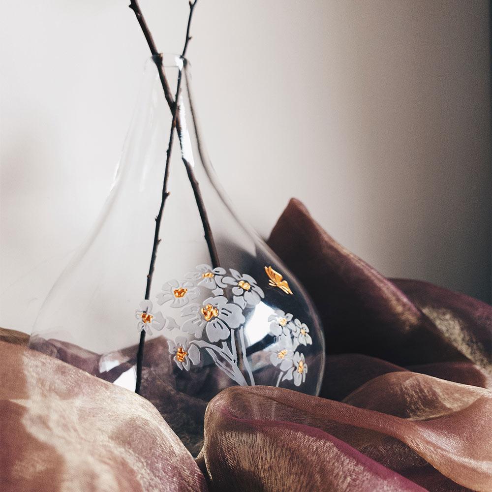 WEN PIIM|Venus Healing Handmade Large Glass Vase x 維納斯的治癒手工大花器
