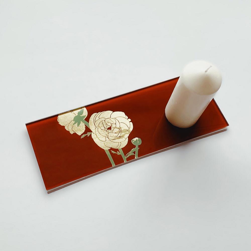 WEN PIIM First _Gold Foil Rectangle Tray x 手工工藝貼箔技法 最初_長方器皿/平墊