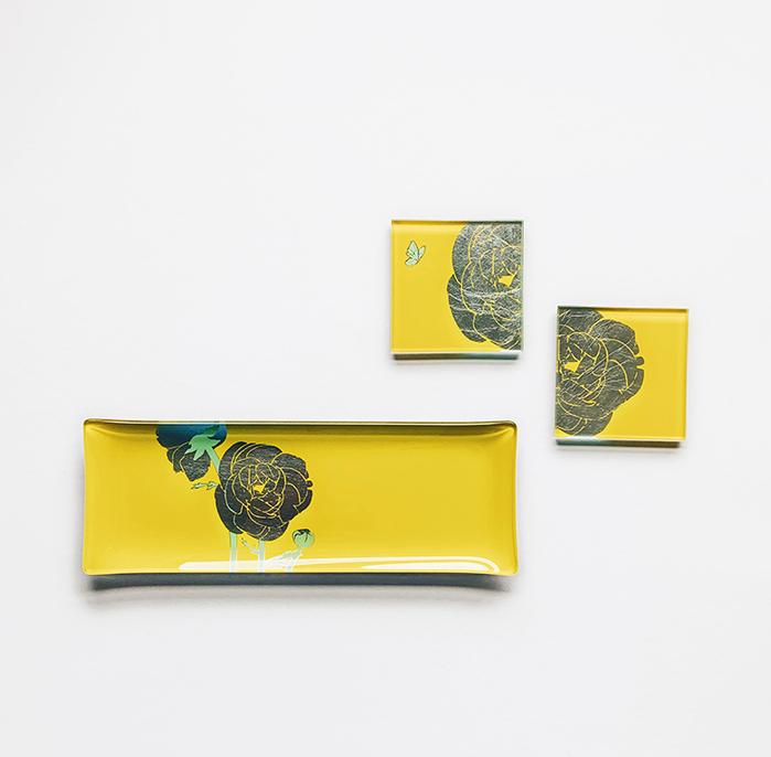 (複製)WEN PIIM | Venus Healing Gold Foil Rectangle Plate x 維納斯的治癒長方形器皿