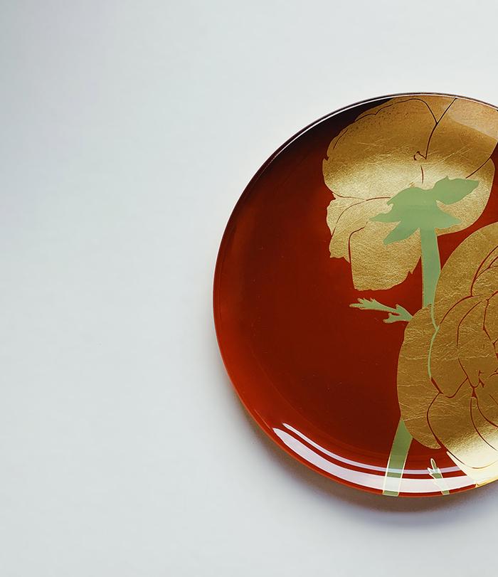 (複製)WEN PIIM | First_ Gold Foil Round Glass Plate x 【手工工藝貼箔技法】最初_ 小圓器皿