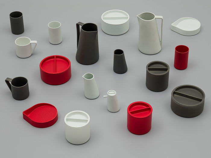(複製)2016Arita|Leon Ransmeier 皿盤 90|Gray