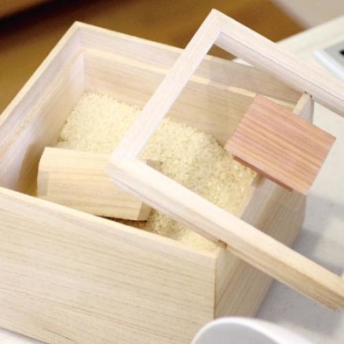 Kirihaco|日本氣密桐木米箱1kg