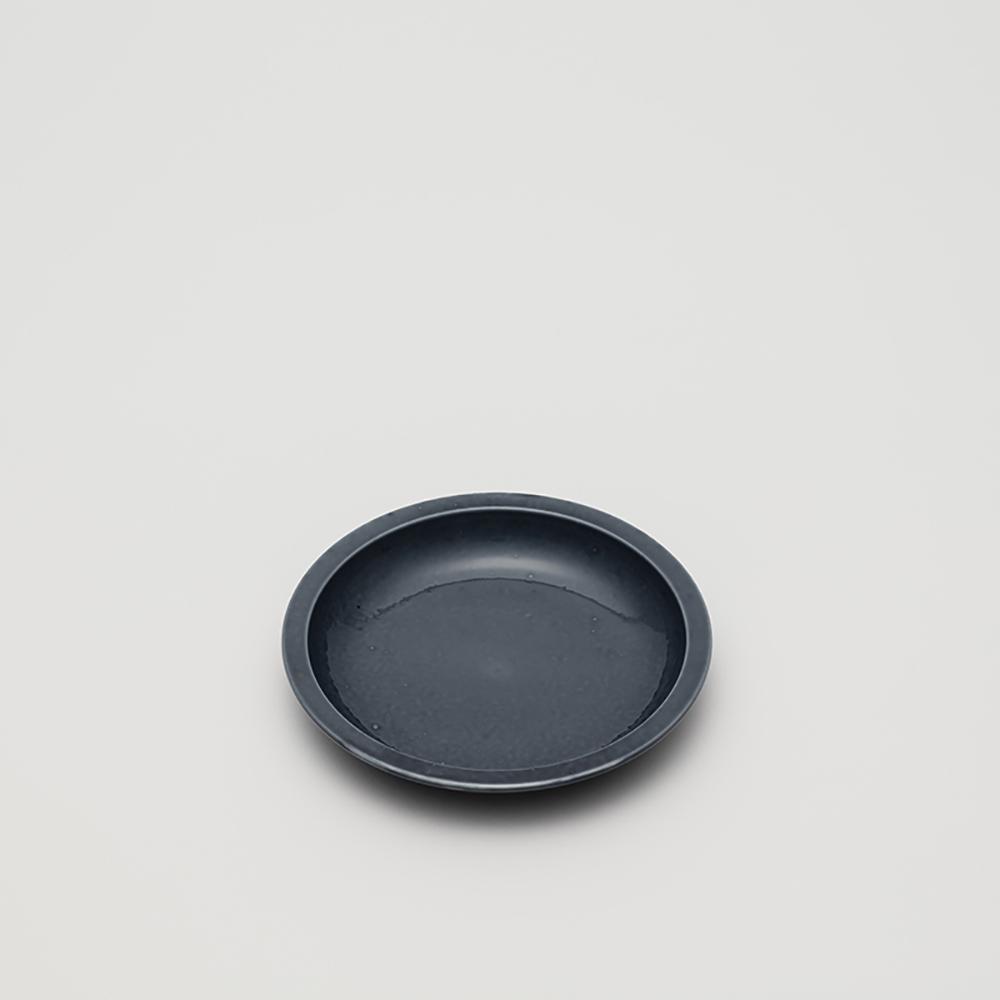 2016Arita|Teruhiro Yanagihara 皿盤140|灰藍