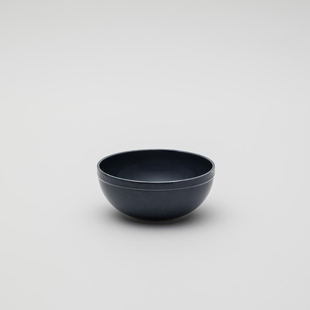 2016Arita Teruhiro Yanagihara 瓷碗140 灰藍