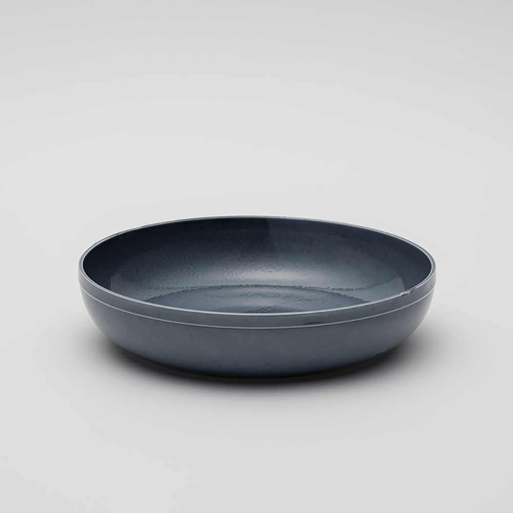 2016Arita|Teruhiro Yanagihara 瓷碗260|灰藍