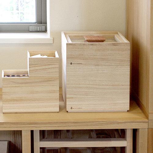 Kirihaco|日本氣密桐木米箱5kg