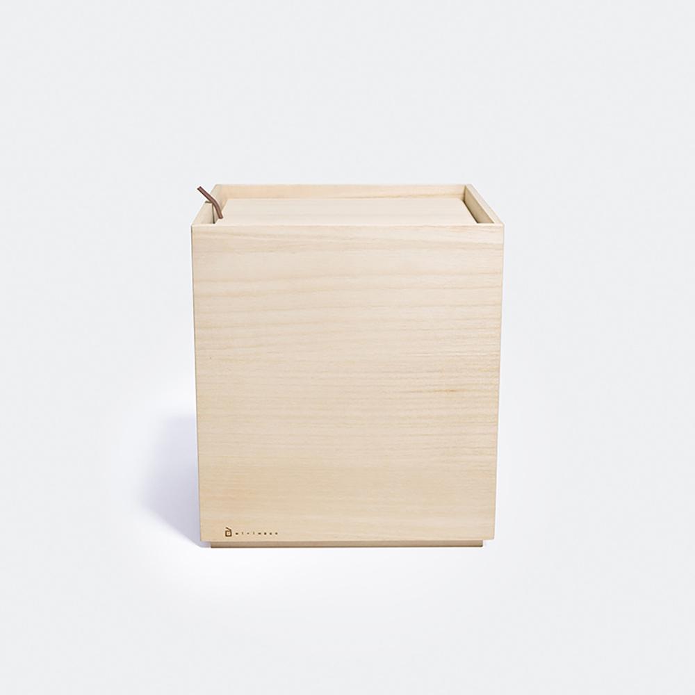 Kirihaco 日本桐木野菜保存箱L