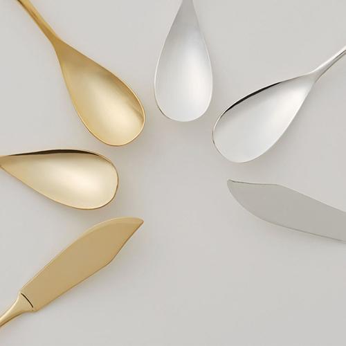 COPPER THE CUTLERY | 100%純銅製 COPPER 2件組 鍍銀 亮面