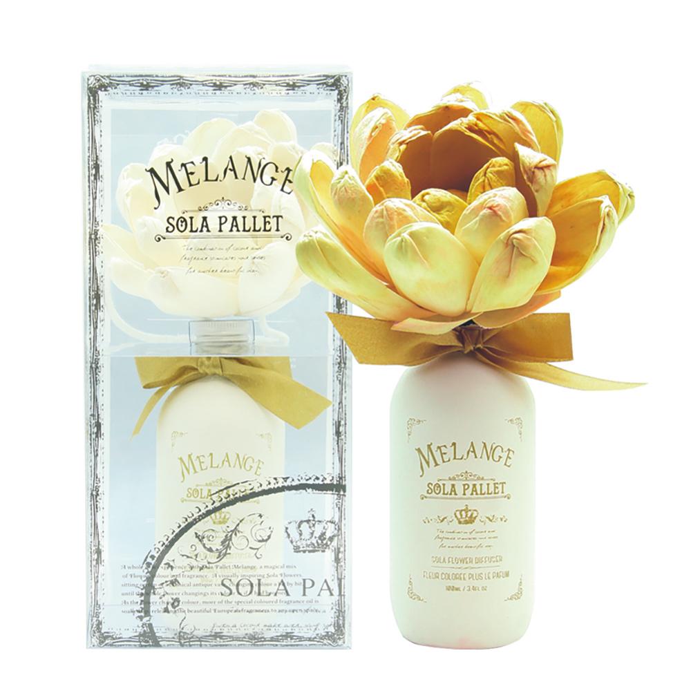 SOLA FLOWER   Melange 索拉花 室內漸變花開擴香 GOLD LIME & MELON 金色