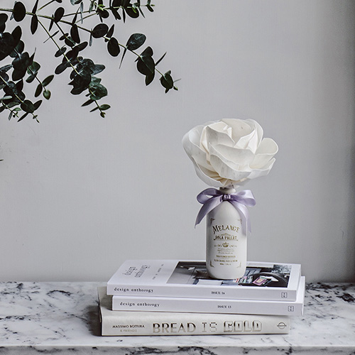 SOLA FLOWER | Melange 索拉花 室內漸變花開擴香 PURPLE LINEN 紫色亞麻