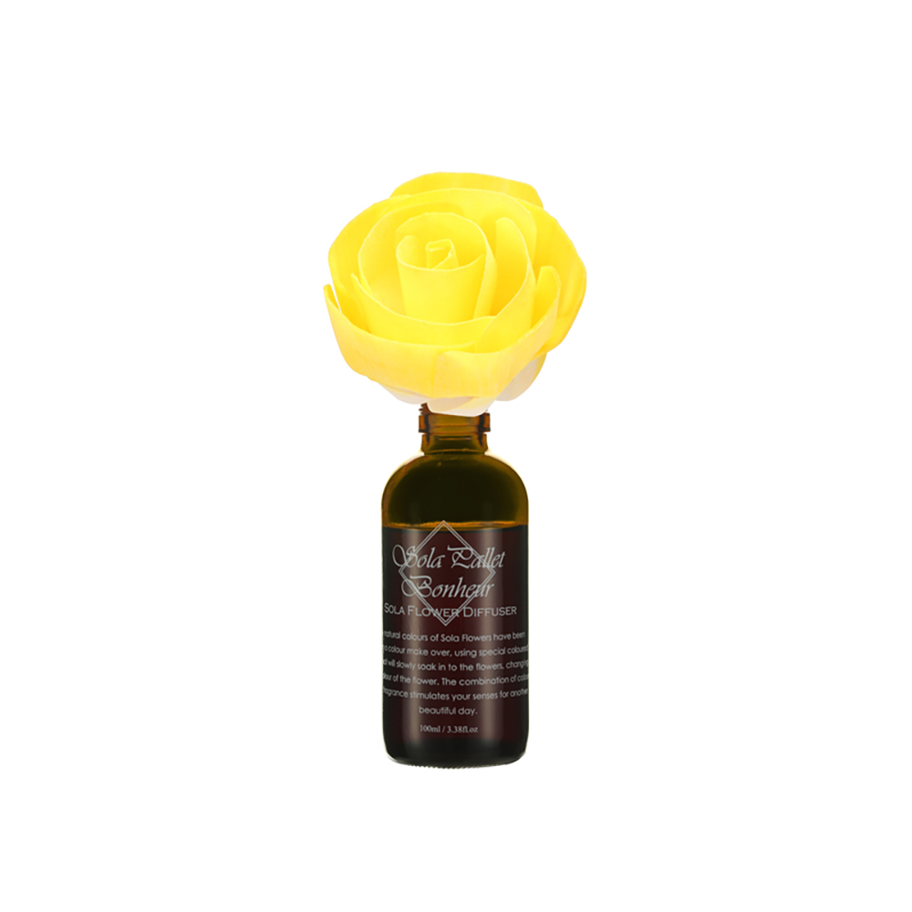 SOLA FLOWER | Bonheur 索拉花渲染擴香 鈴蘭&西柿子(鮮黃花開)