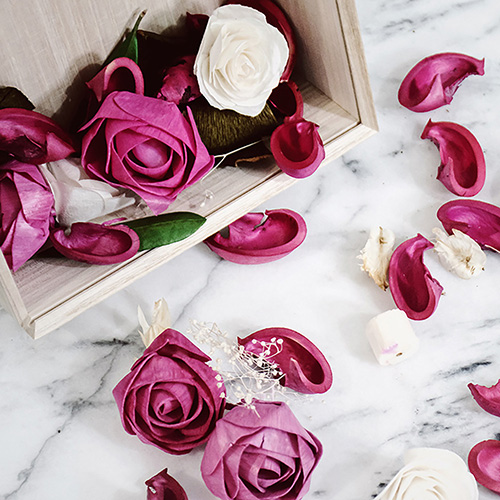 SOLA FLOWER | Melange 索拉花 香花盒 RED PON 紅色石榴