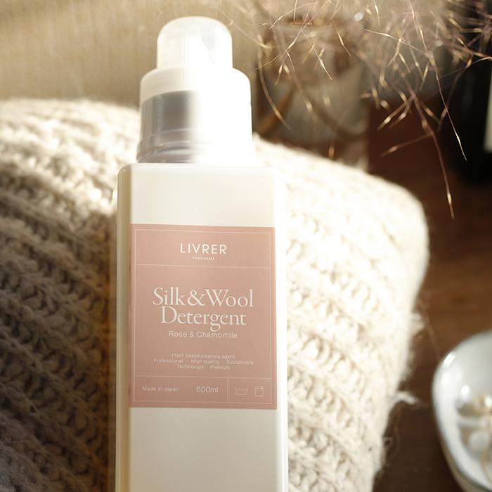 LIVRER 麗芙|羊毛 & 絲質專用洗衣精 600ml (玫瑰&柑橘香氛)