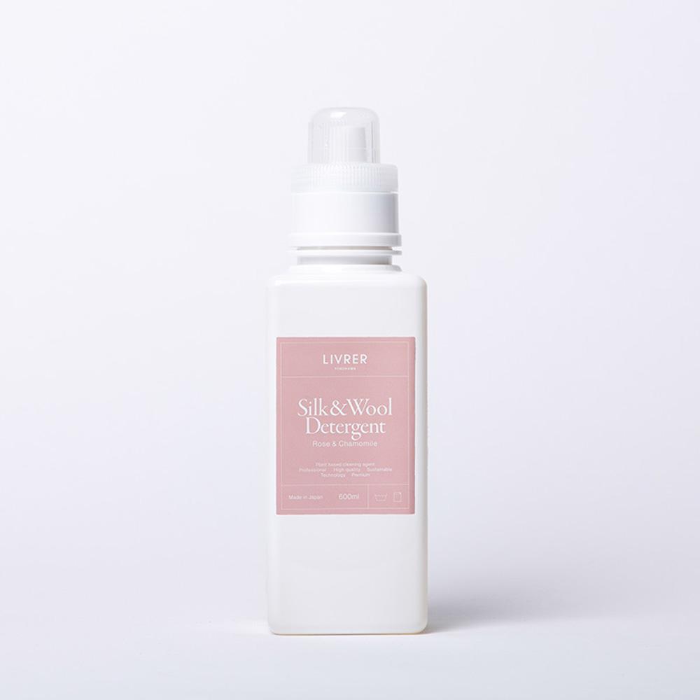 LIVRER 羊毛 & 絲質專用洗衣精 - 玫瑰&柑橘 Rose&Chamomile