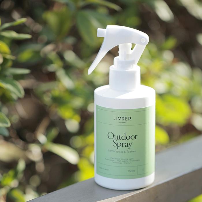 LIVRER 麗芙 戶外防蟲噴霧衣物用  150ml(檸檬草、茶樹、薄荷香氛)