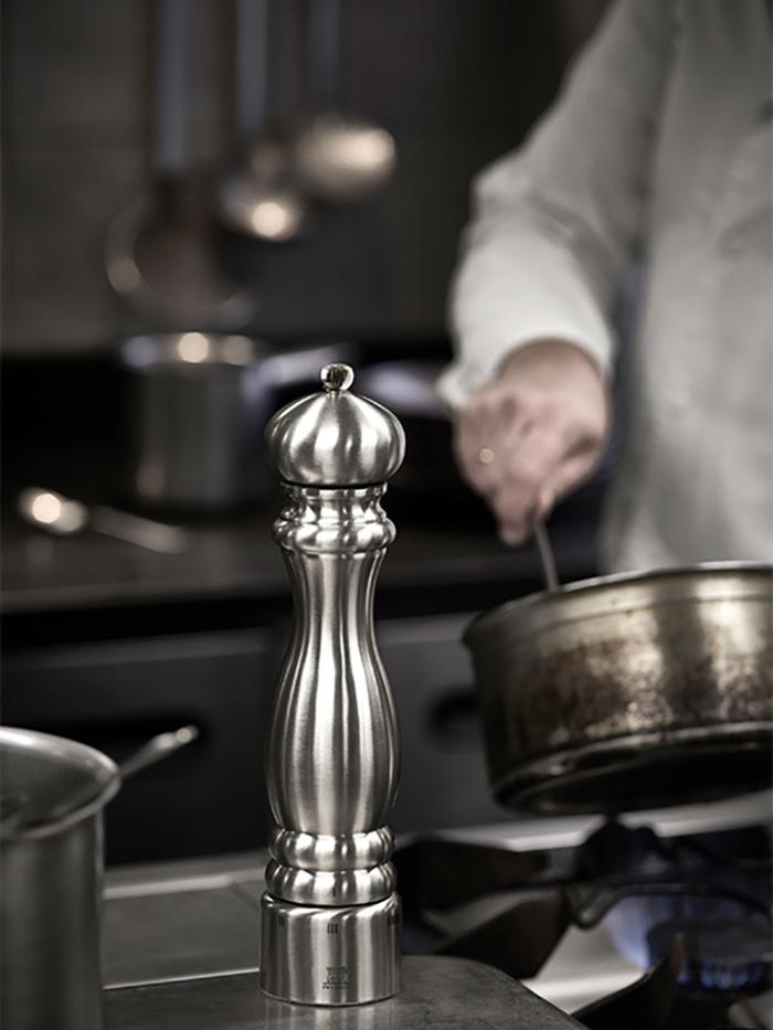 Peugeot  |  Paris Chef 不銹鋼鹽巴研磨罐 - 銀色 30cm