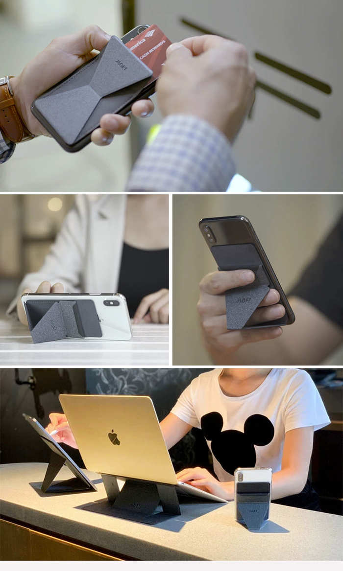 【集購】MOFT X│世界首款超薄手機隱形支架(獨家首賣)