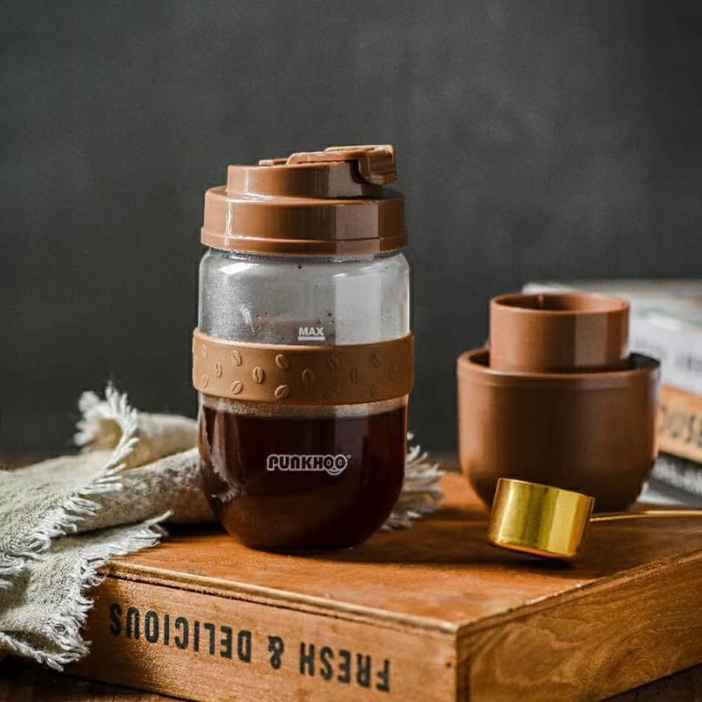 Punkhoo | 咖啡豆豆果汁杯(兩色任選)