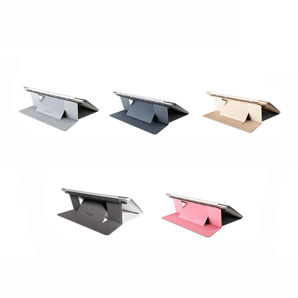 MOFT X|隱形筆電支架(散熱孔款)+手機支架+磁扣優惠組合