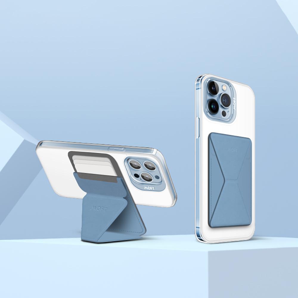 MOFT|磁吸防摔保護殼(白)+磁吸手機支架  iPhone13 Pro專用