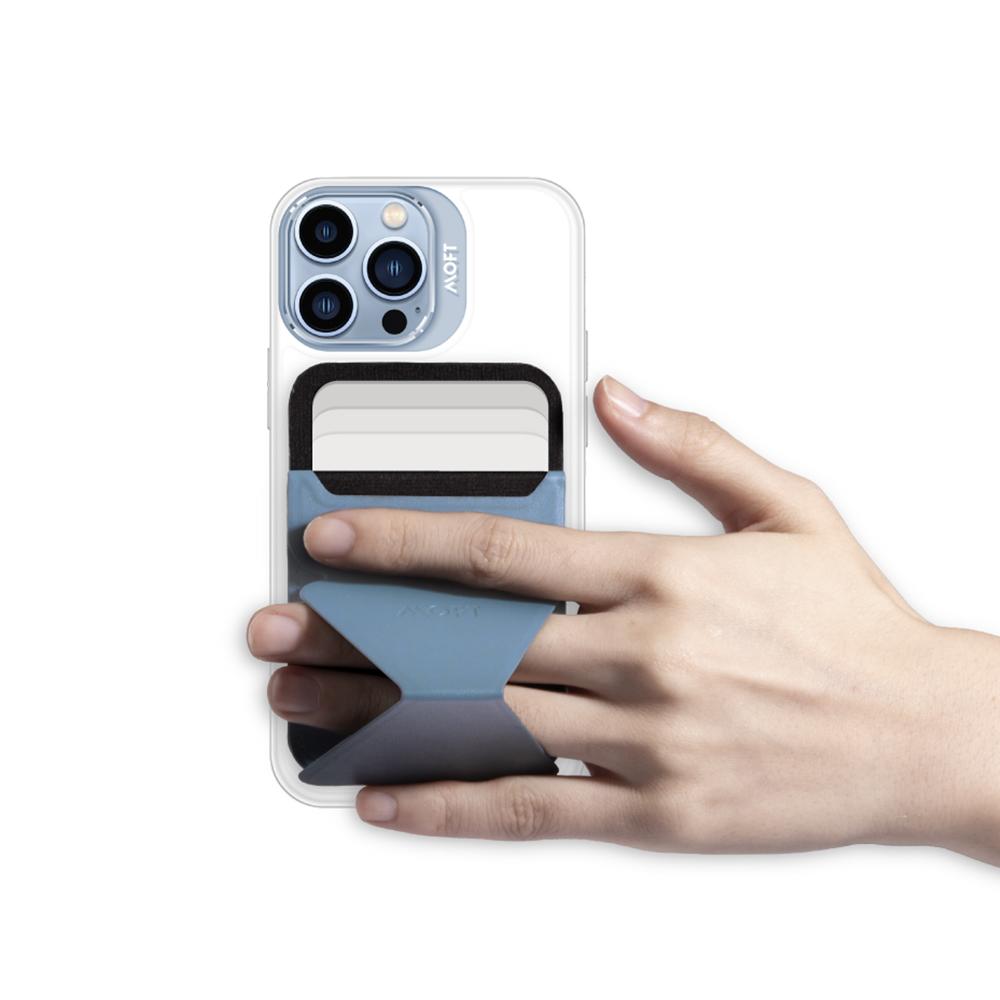 MOFT|磁吸防摔保護殼(白)+磁吸手機支架  iPhone12 / 12 Pro專用