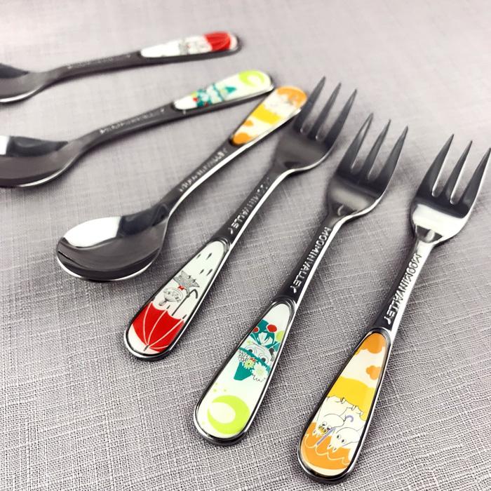 yamaka|MOOMIN嚕嚕米季節系列-不鏽鋼湯匙叉子6件組