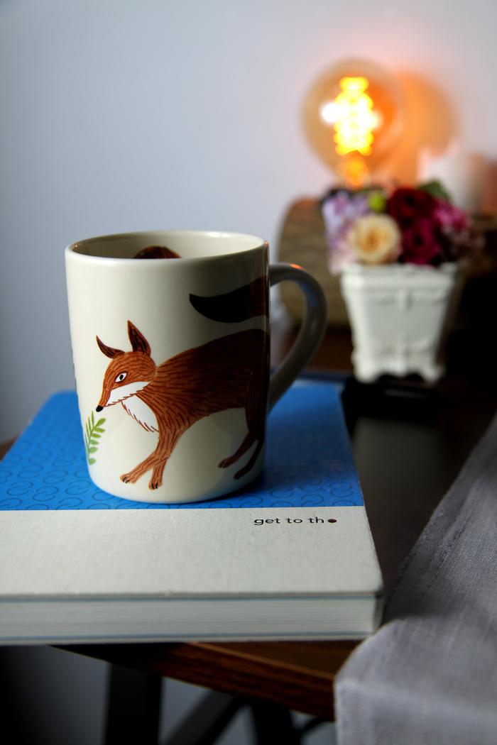 yamaka|松尾美雪-狐狸圓筒杯