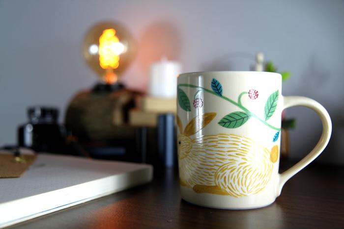 yamaka|松尾美雪-兔子圓筒杯